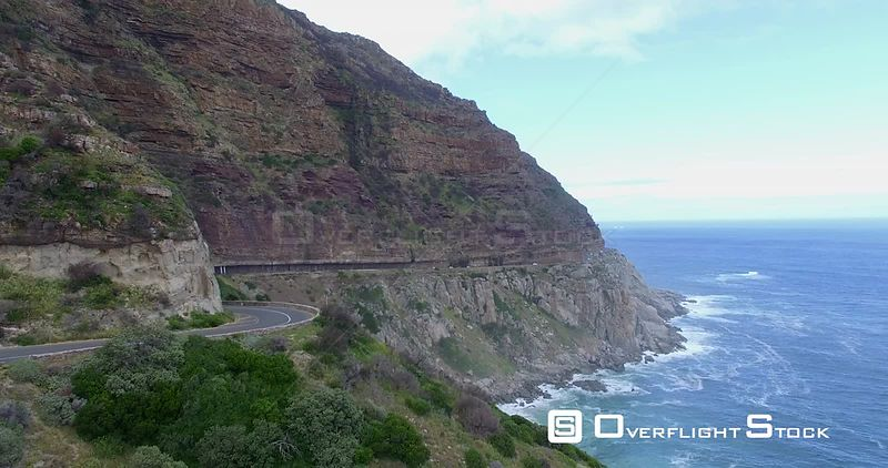 Drone Video Chapman's Peak Drive South Africa
