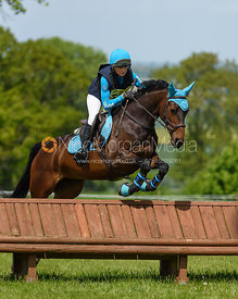 Lisa Maynard and LOLLOBRIGIDA, Fairfax & Favor Rockingham Horse Trials 2018