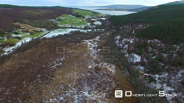 Migdale Forest Nadir Scotland in Winter