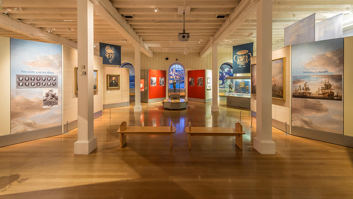 The Victory Gallery at the Portsmouth Historic Dockyard
