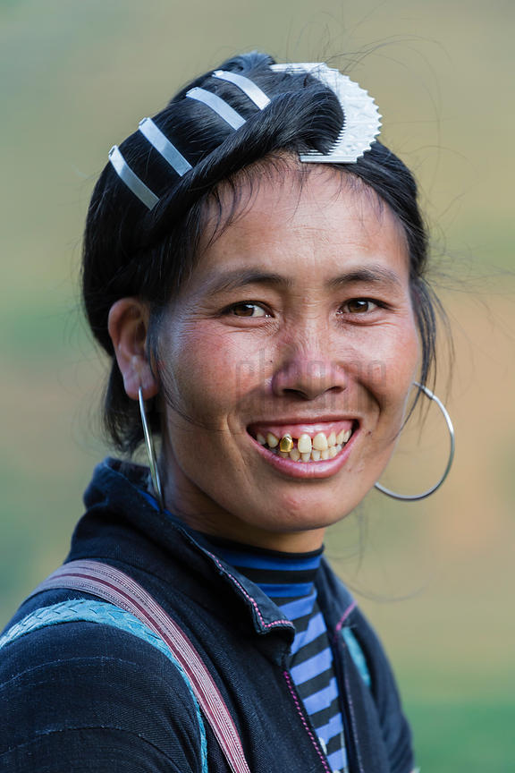 Portrait of a Black Hmong Woman