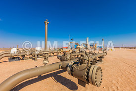 Compression Plant Valves & Pipe