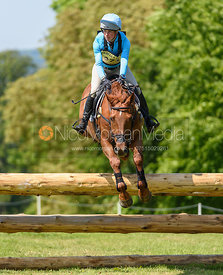 Izzy Taylor and ARTFUL TRINITY, Fairfax & Favor Rockingham Horse Trials 2018