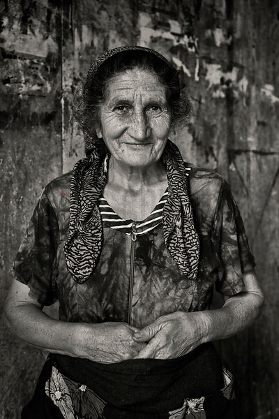 Portrait of a Vendor from the Deserter's Bazaar