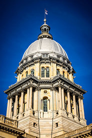 Springfield Illinois State Capitol Dome