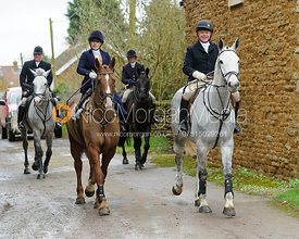Frances Moulaert, Michael Elson - The Belvoir Hunt at Springfield Farm 25/2