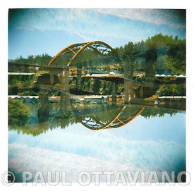 Sauvie Island Bridge by Paul Ottaviano