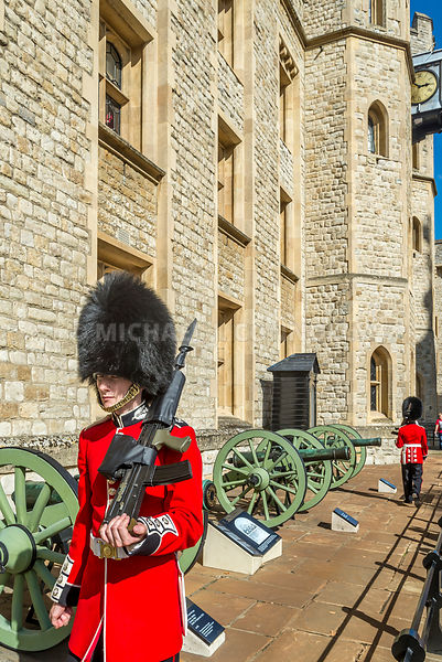 Grenediers On Parade- Tower Of London