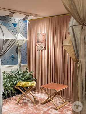 JAB Pop Up designed by Jutta Werner, Paris, France.