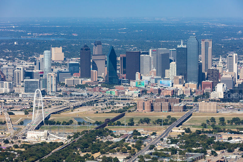 Dallas City Skyline