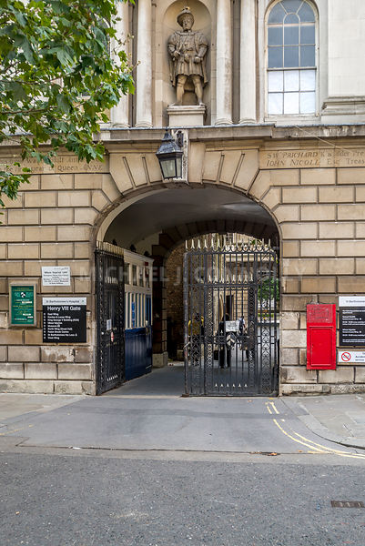 St. Bartholomew Hospital- King Henry VIII Gate