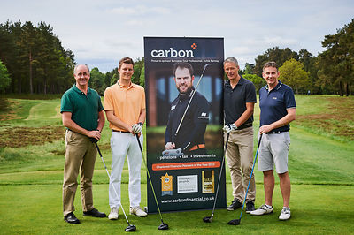 corporate golf day men