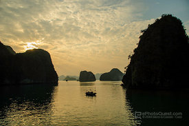 Karst Scenery in Halang Bay