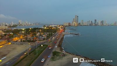 Cartagena Colombia Drone Footage