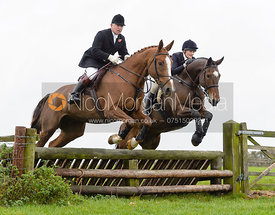 James Mossman jumping a fence at Stone Lodge Farm