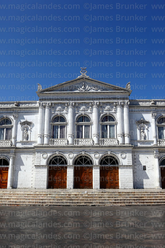 Facade of Municipal Theatre , Iquique, Region I , Chile
