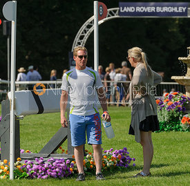 Oliver Townend -  Land Rover Burghley Horse Trials, 5th September 2013.