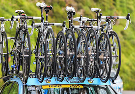 Bikes of Saxo Bank-Sungard Team - Tour de France 2011