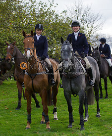 Caroline Edwards - The Quorn Hunt at John O' Gaunt 9/11/12