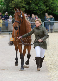 Gemma Tattersall and ARCTIC SOUL - First Horse Inspection, Mitsubishi Motors Badminton Horse Trials 2014