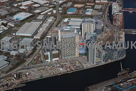 Manchester Salford Quays and the BBC Media City developments
