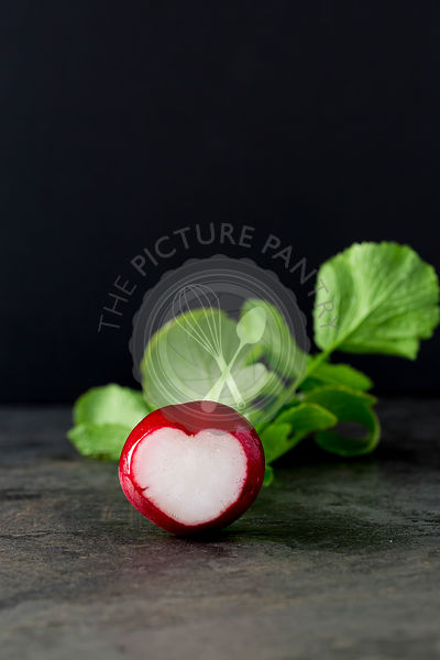 Heart Shaped Radish.