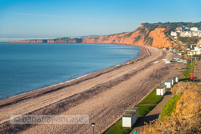 The beach at Budleigh Salterton - BP6626