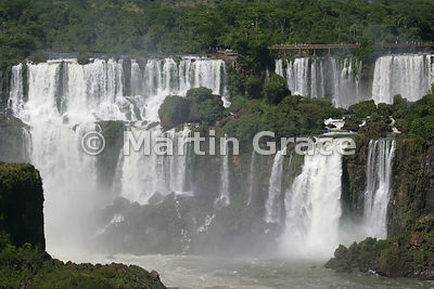 Iguassu (Iguazu) Falls from the Brazilian side