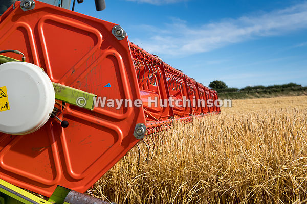 Hutchinson Photography - Farm Images | Close up of a Claas