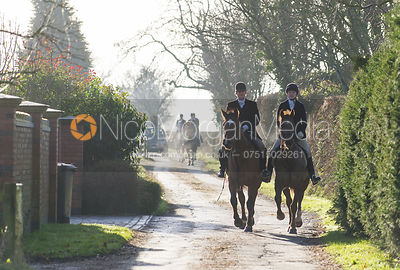 Max and Kate Chenery - The Quorn Hunt at Swan Lodge 16/12