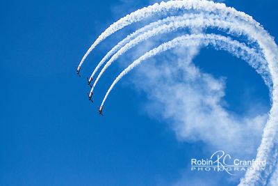 Art Deco Saturday 2012.  Air Show.  New Zealand Warbirds Aerobatic Team.