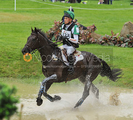 Ryuzo Kitajima and JUST CHOCOLATE - Event Rider Masters CIC***