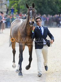 Sebastian Mateu and BORN AGAIN - Mitsubishi Motors Badminton Horse Trials 2013