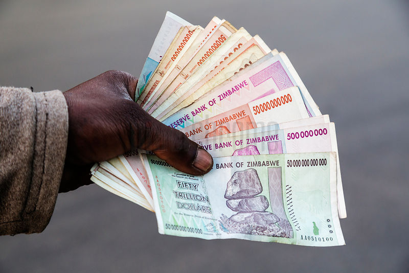 Old Zimbabwe Currency