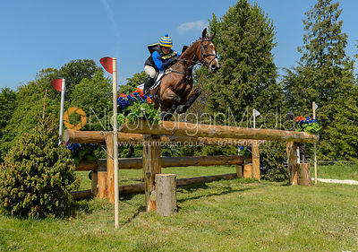 Bryony Wilson and PRIMO III, Fairfax & Favor Rockingham Horse Trials 2018