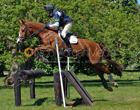 Bill Levett and Filigree, Brigstock International Horse Trials 2010
