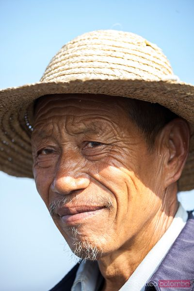 Man in Jinshanling