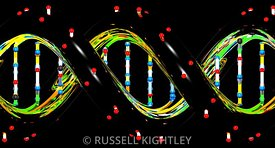 DNA City Lights Orthographic #2