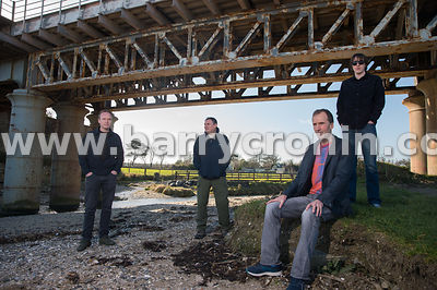 10th February, 2019.The band Yelling Bones are from left: Brian Malone, Myles and Fionn McDonnell and Gerry McGovern in the f...