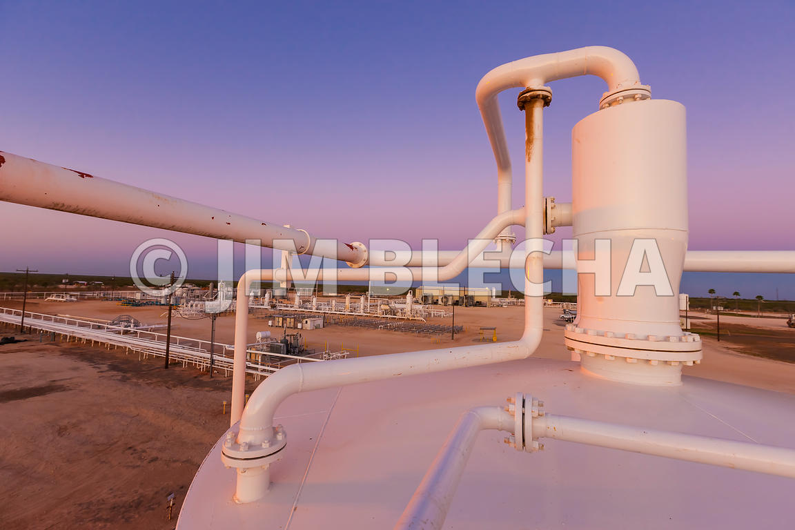 Oil and Gas Stock Photography | NFPA Sign Application