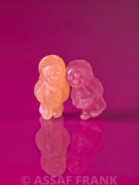 Two jelly babies