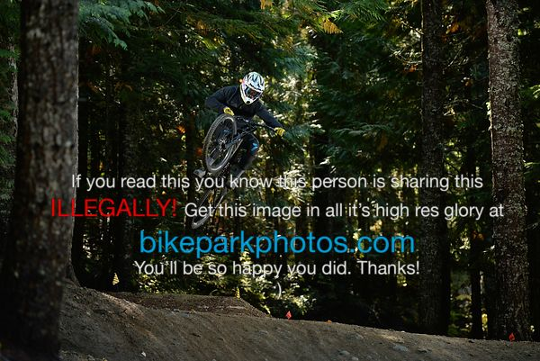 Monday September 24th ALine Tombstone bike park photos