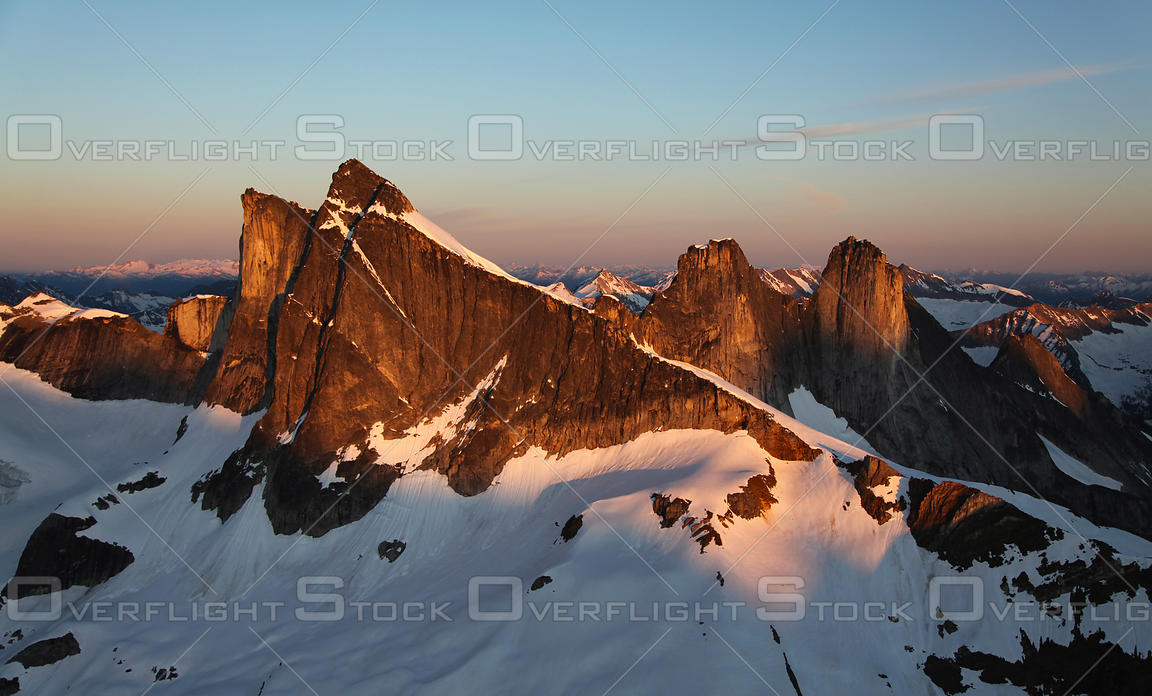 The Leaning Towers Purcell Mountains BC Canada