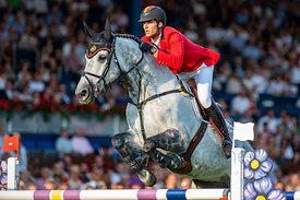 19/07/18, Aachen, Germany, Sport, Equestrian sport CHIO Aachen 2018 - ,  Image shows Nicola PHILIPPAERTS (BEL) riding H&M Har...
