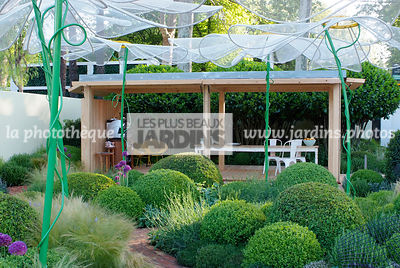 Ball shaped, Buxus, Contemporary furniture, Contemporary garden, Digital, Garden construction, Garden furniture, Garden table...