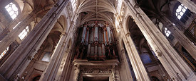 Organ of Saint Eustache church, Paris