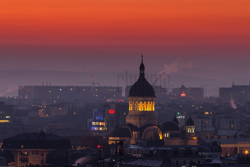 Dormition of the Theotokos Cathedral at Dawn