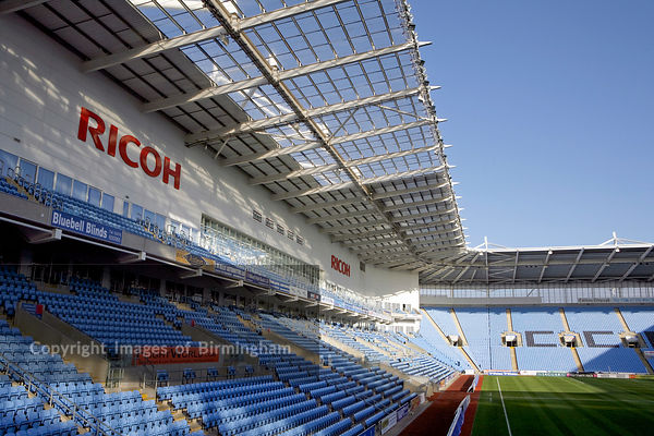 Ricoh Arena, Coventry.  Hotel, conference, show, and sports facilities.  Home of Coventry City Football Club. West midlands, ...