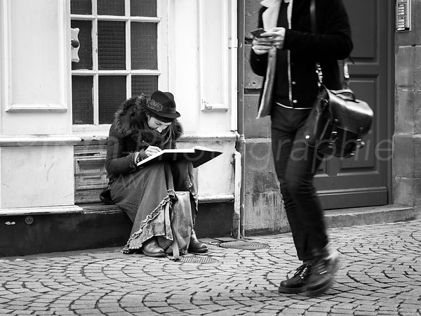 Street Photo - Jeu d'écriture