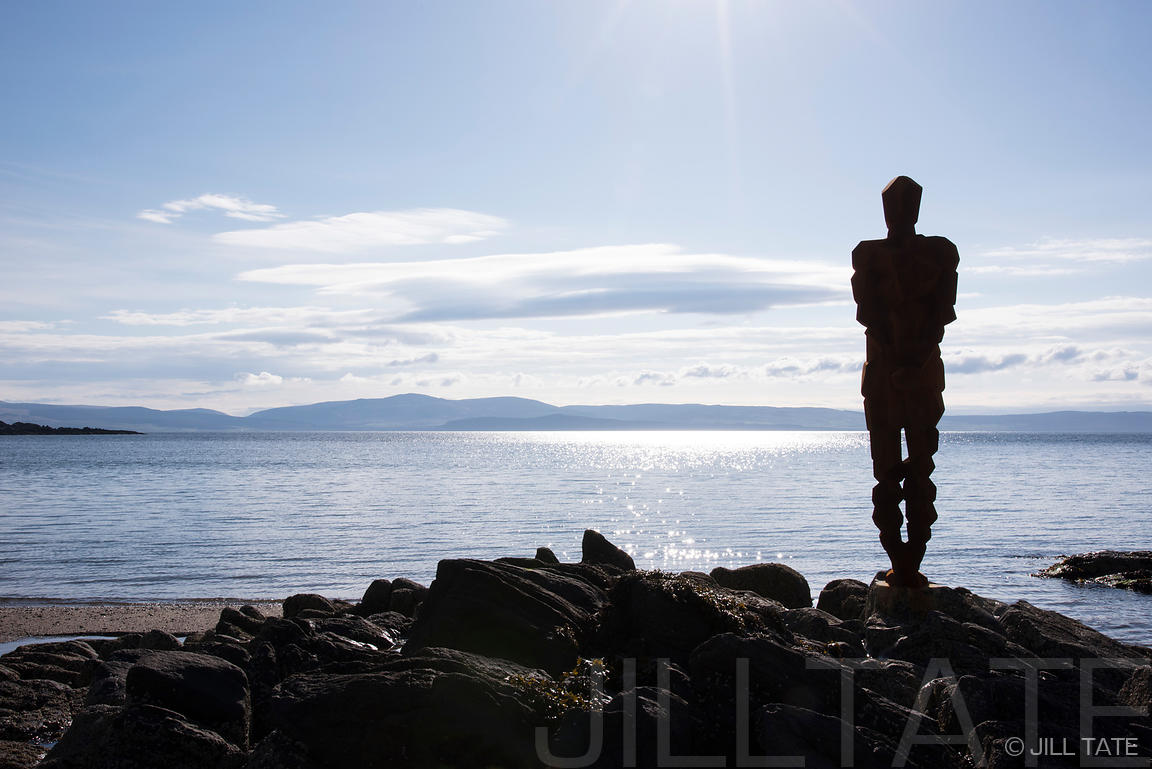 LAND at Saddell Bay by Antony Gormley | Client: The Landmark Trust